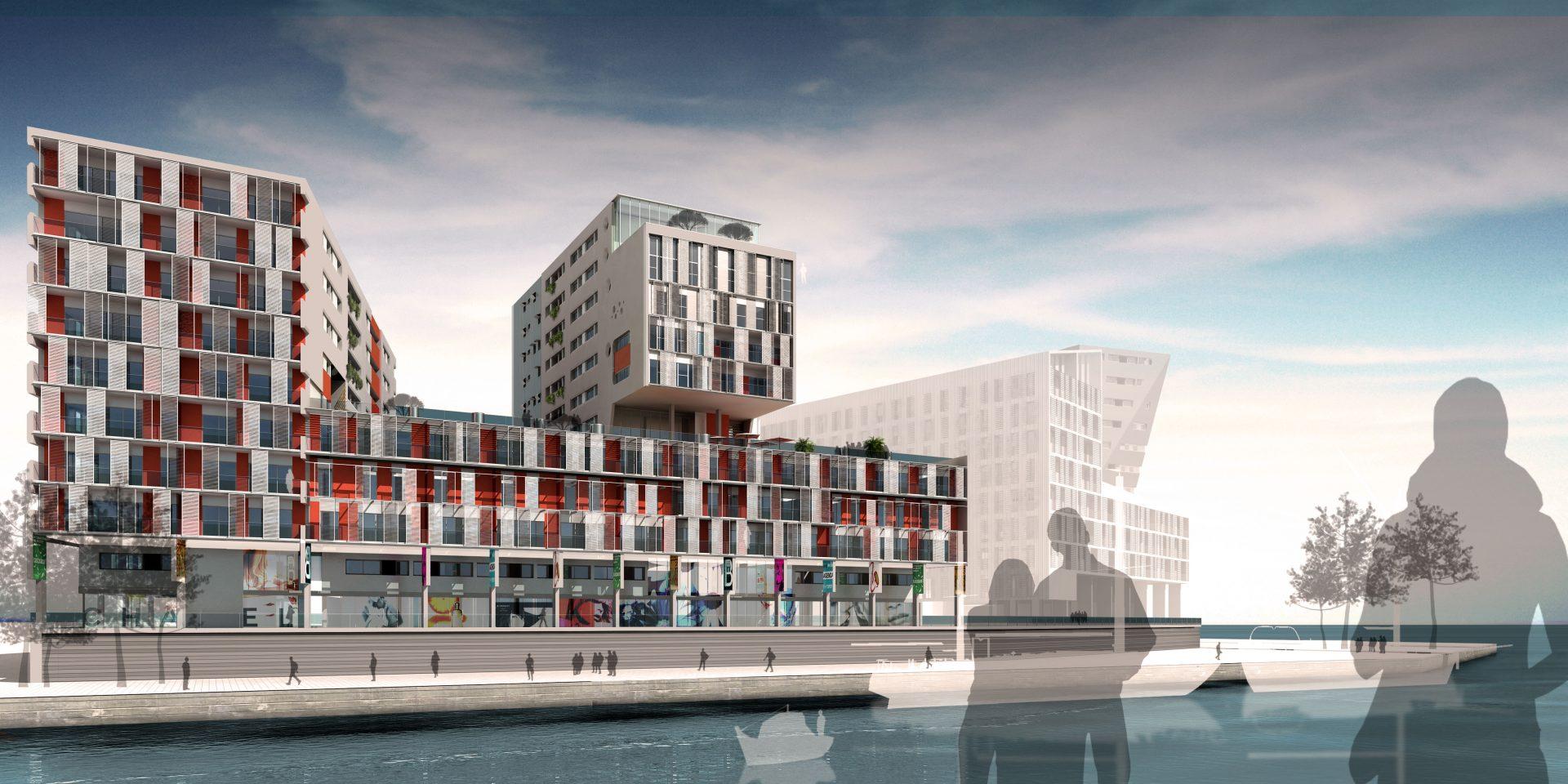housing rendering