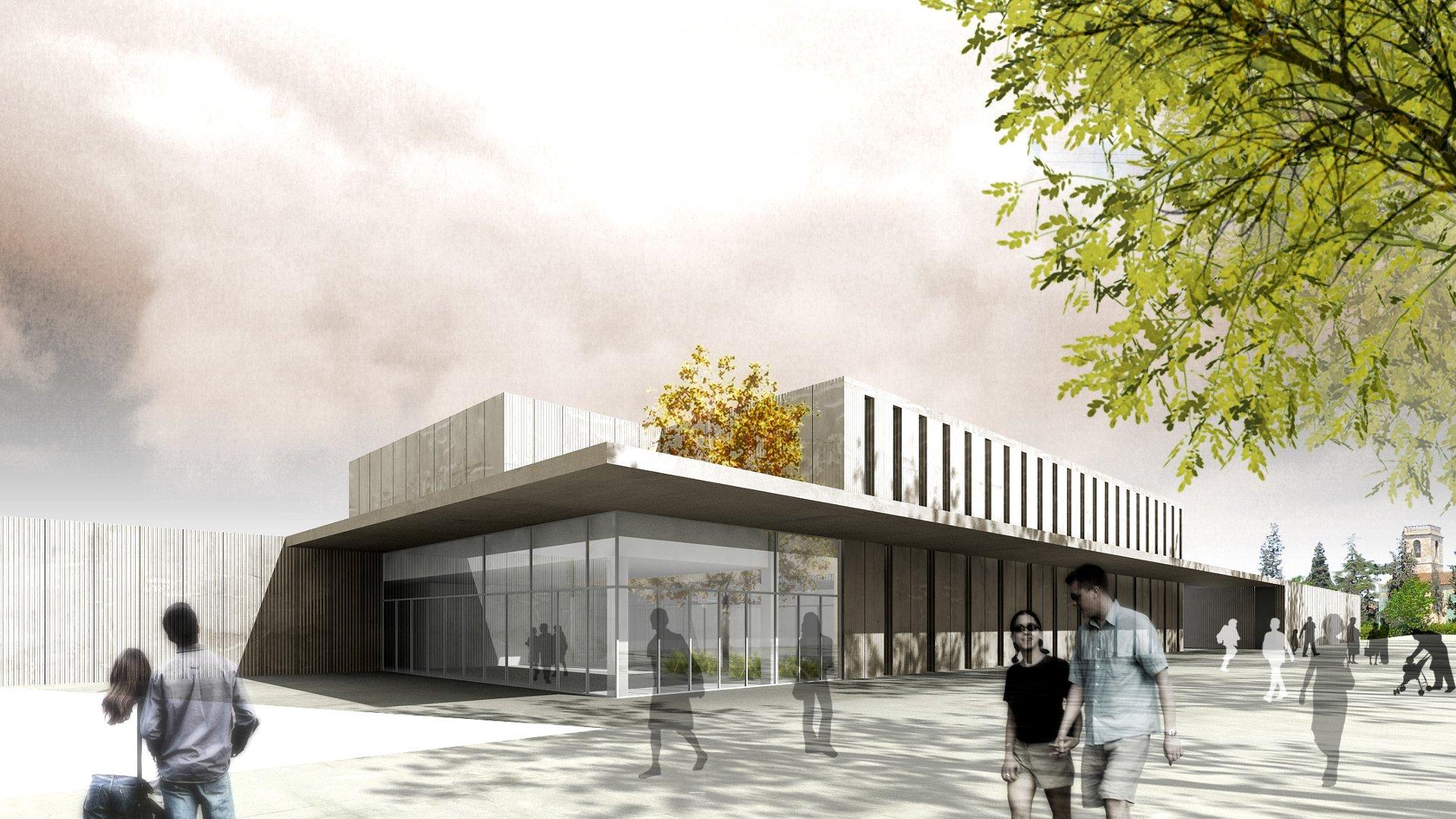 3d visualisierng architektur